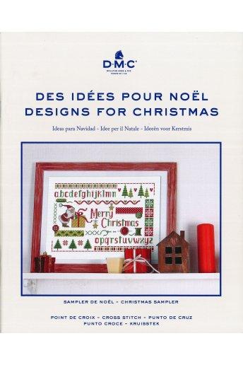 クリスマス図案集 –サンプラー– DESIGNS FOR CHRISTMAS -Sampler-