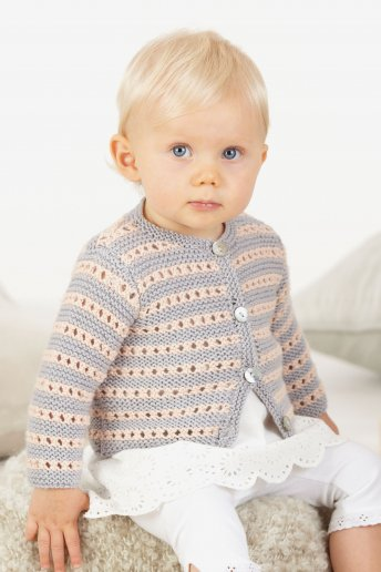 Modelo Hollie Casaco para bebé - SPIEGAZIONI GRATUITE