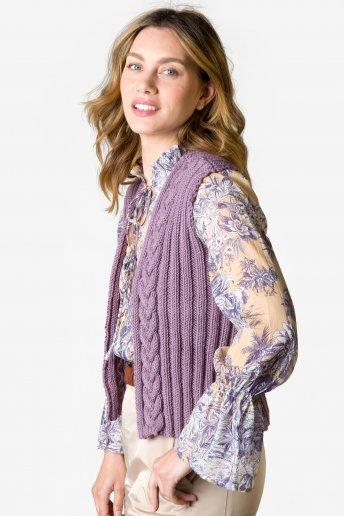 Modello Woolly 5 Gilet per donna