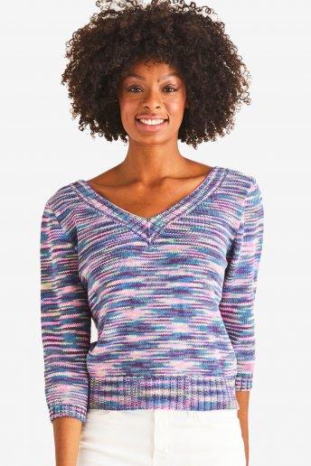 Modelo Natura Multico jersey para mujer