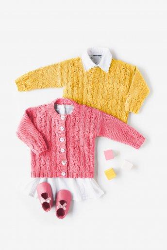 Modelo 100% Baby Cotton Camisola para bebé - SPIEGAZIONI GRATUITE
