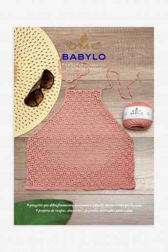 Leaflet modèle déco, vêtements, accessoires au crochet en Babylo