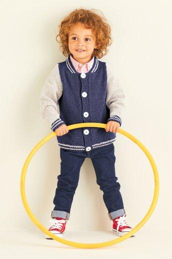 Modelo Merino Essentiel 3 casaco infantil - EXPLICAÇÕES OFERECIDAS