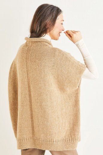 Modelo Andes poncho mujer