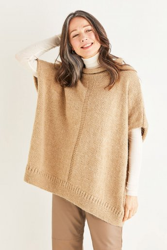 Modelo Andes poncho mulher