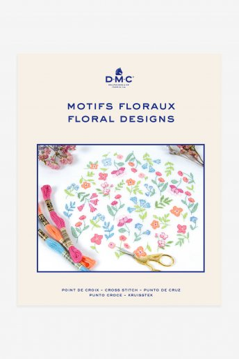Flowers Cross-stitch Booklet