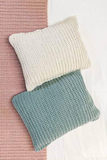 Modello Natura XL cuscini e runner per letto