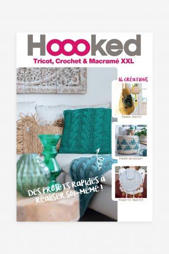 Catalogue Hoooked tricot, crochet et macramé XXL
