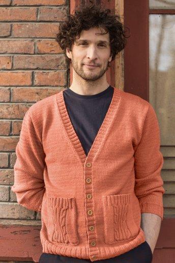 Modelo Woolly chaqueta para hombre