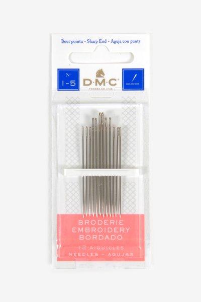 DMC Quilting Needle Size 8 Set of 20 Needles