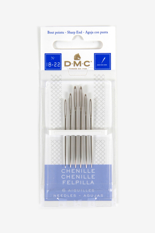 DMC Aiguilles-Chenille-taille 20-6 AIGUILLES