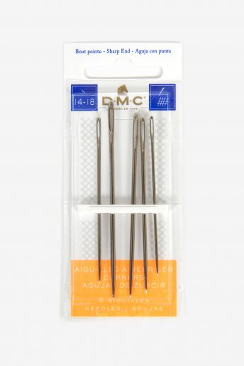 Dmc darning needles size 14 - 18
