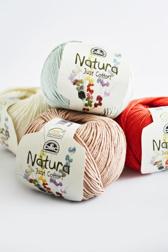 Natura just cotton art. 302 fio para tricô e croché