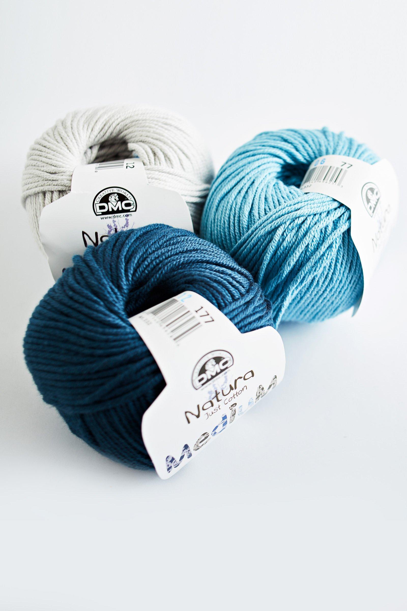 Fil Natura Médium crochet et tricot