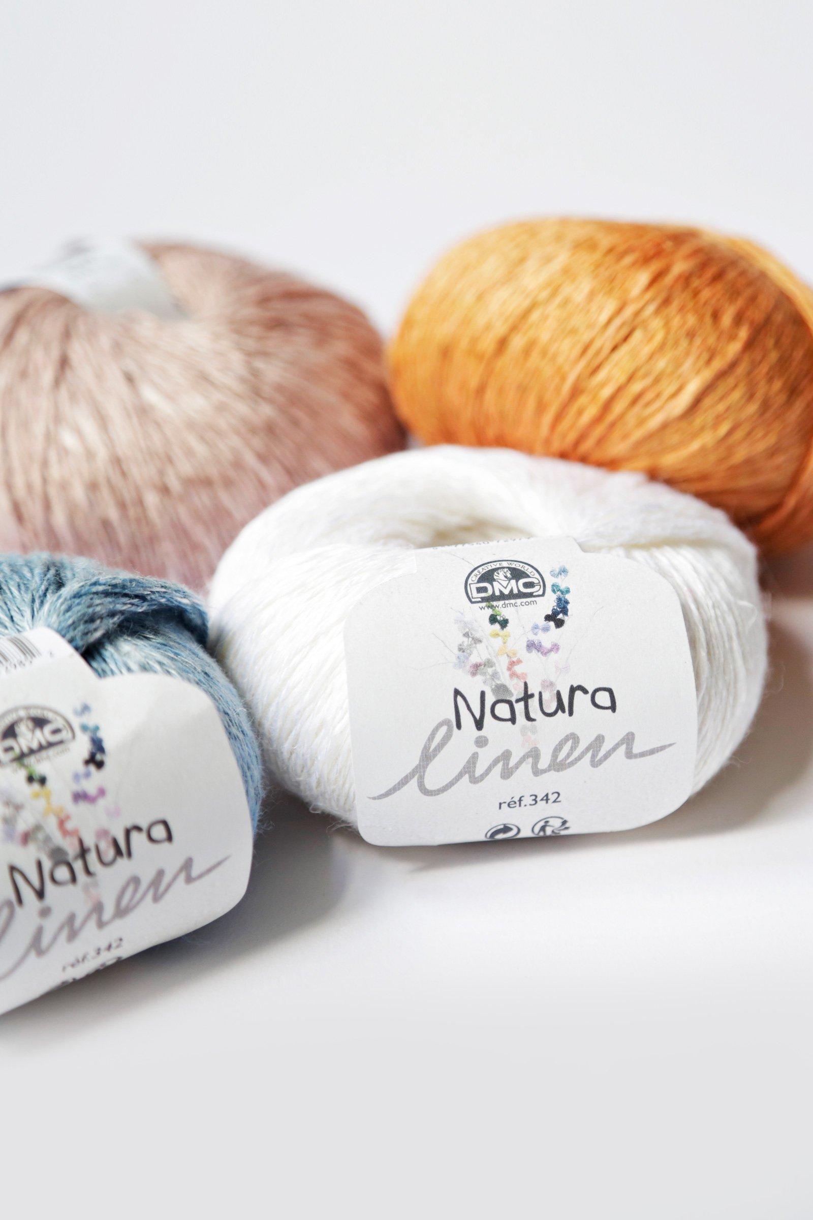 Fil Natura Linen pour tricot