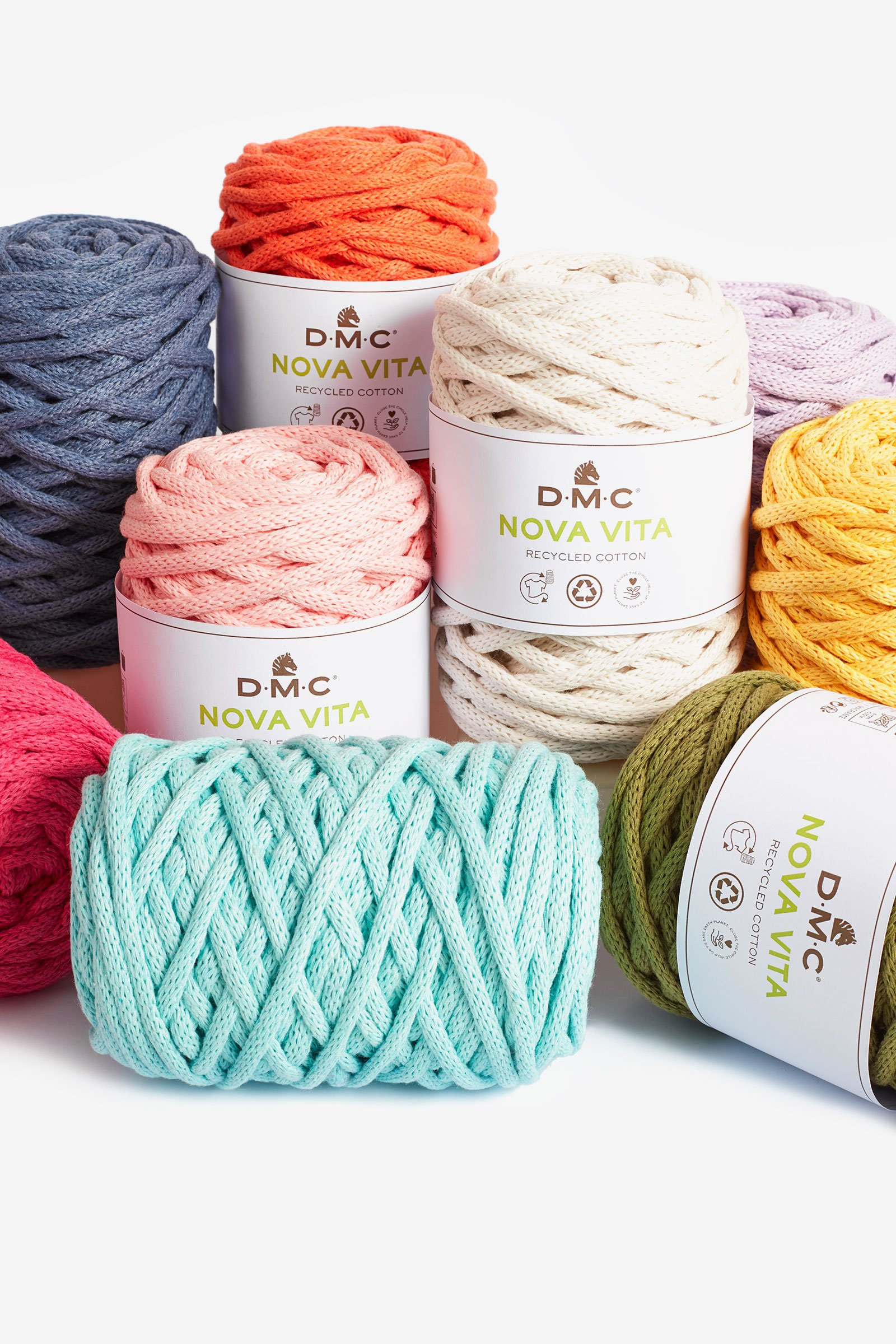Fil Nova Vita crochet macramé tricot