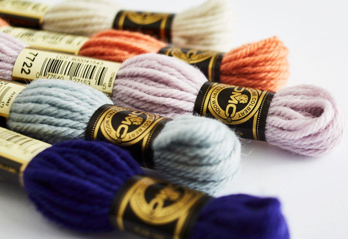 DMC Tapestry Wool 8 Metre Skeins 7300-7499