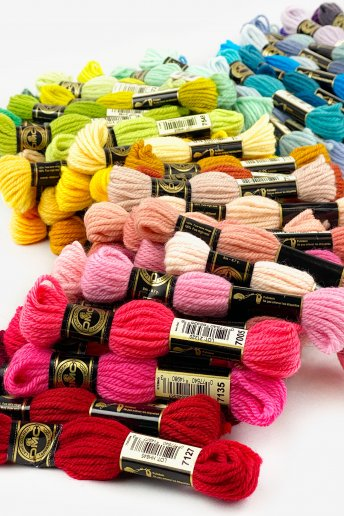 Tapestry Wool 100 Color Pack
