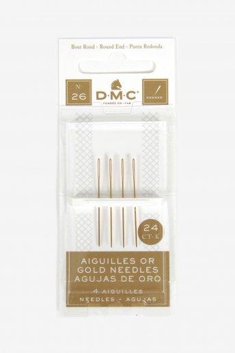 サイズ26/24K ゴールド エンブロイダリー針