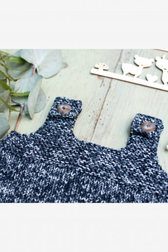 Baby Top Coton Natura Denim n°6768