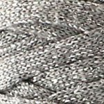 Hoooked Ribbon lurex Silver Glitter