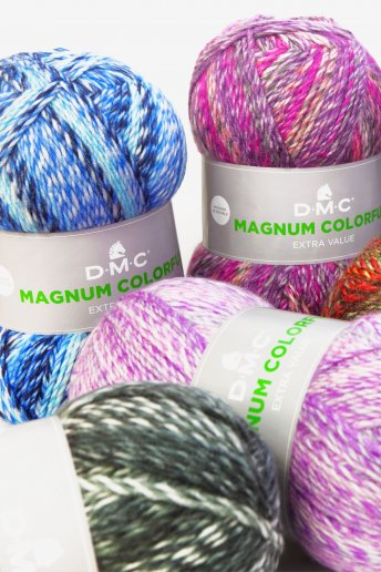 Lã Magnum Colorful