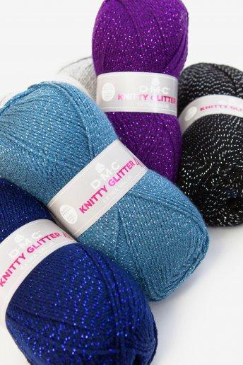 Lã Knitty 4 Glitter