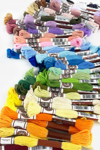 100 Skein Matte Cotton Pack