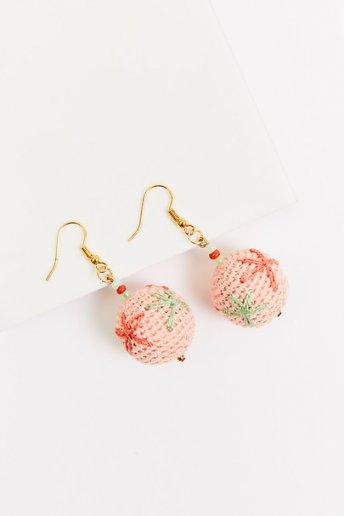 Spheres earrings - pattern
