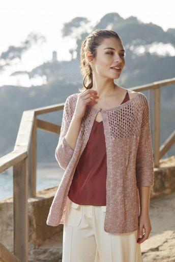 Chaqueta tricot modelo Godetia