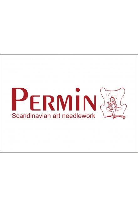 「Red sleigh(赤いソリ)」PERMIN CROSS STITCH KITS ペルミン クロスステッチキット