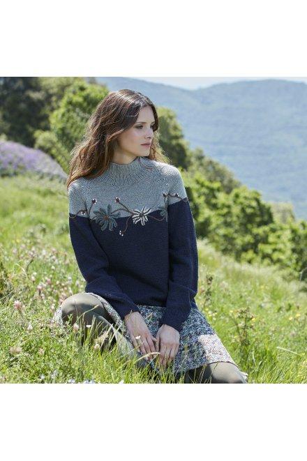 Modèle tricot aberdeen pull