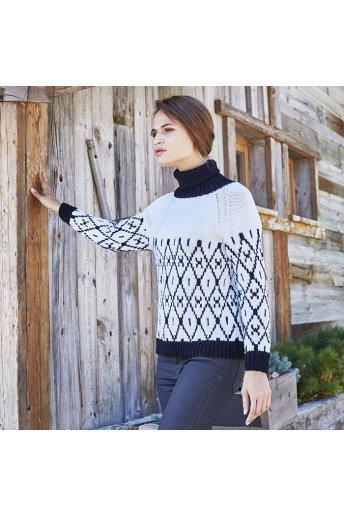 Modello tricot Alix maglione