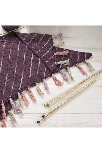 Modèle tricot andra écharpe