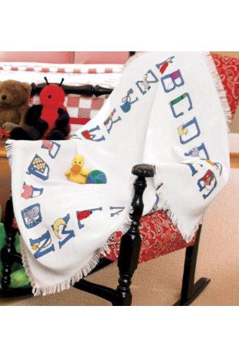 Baby Alphabet Afghan