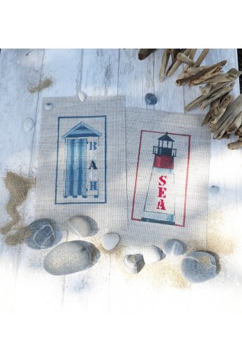 Beach Hut & Lighthouse Kit