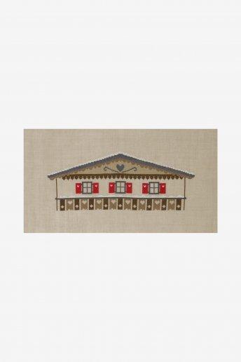 Kit volets rouges montagne bk1611