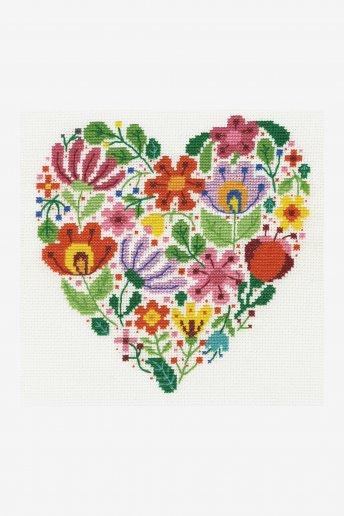 Flower heart kit