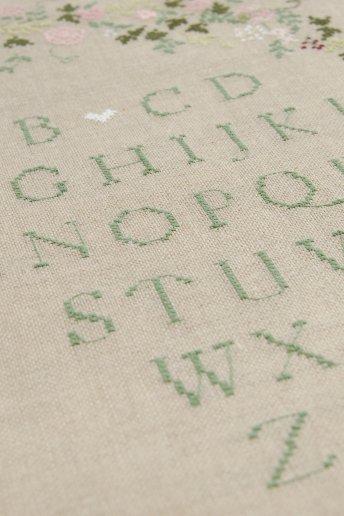 Classic Sampler Cross Stitch Kit