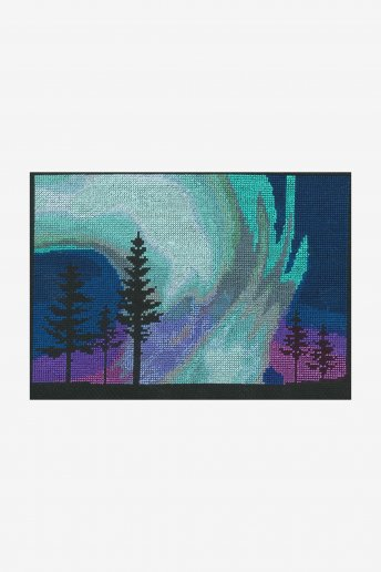 Northern Lights Cross Stitch Kit