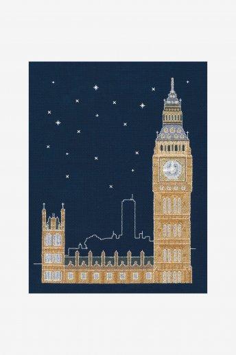 London By Night Cross Stitch Kit