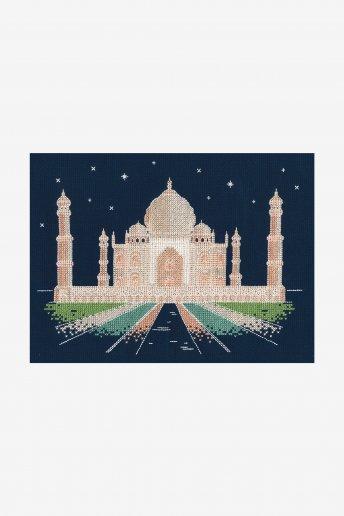 Agra By Night Cross Stitch Kit