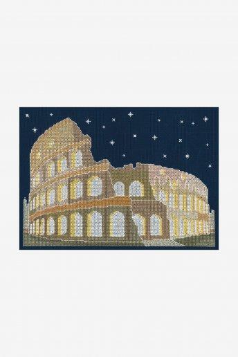 Rome By Night Cross Stitch Kit