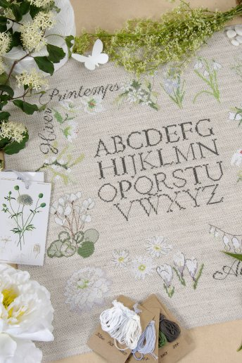 Kit Alfabeto botanico
