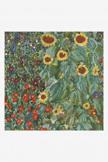 Kreuzstichset Der Sonnenblumengarten