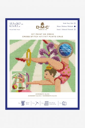 Acrobat Cross Stitch Kit