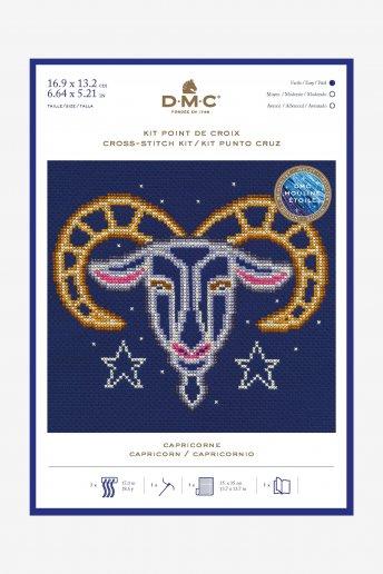 Kit punto de cruz signos del Zodíaco: Capricornio