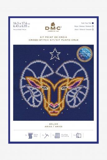 Kit punto de cruz signos del Zodíaco: Aries