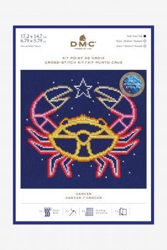 Kit punto de cruz signos del Zodíaco: Cáncer