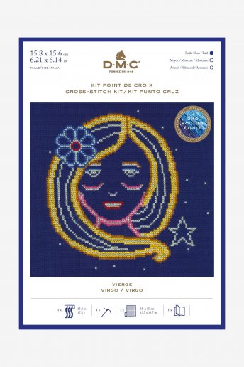Star sign cross stitch kit - Virgo